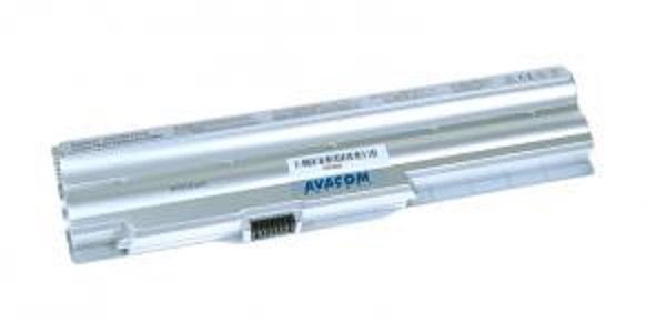 Náhradní baterie AVACOM Sony Vaio VPC-Z series, VGP-BPS20 Li-ion 10,8V 5200mAh/56Wh stříbrná - NOSO-20SN-806