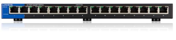 Linksys SMB switch LGS116 16-port Gigabit - LGS116-EU