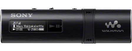 SONY NWZ-B183 – Přehrávač WALKMAN® s portem USB, 4GB BLACK - NWZB183B.CEW