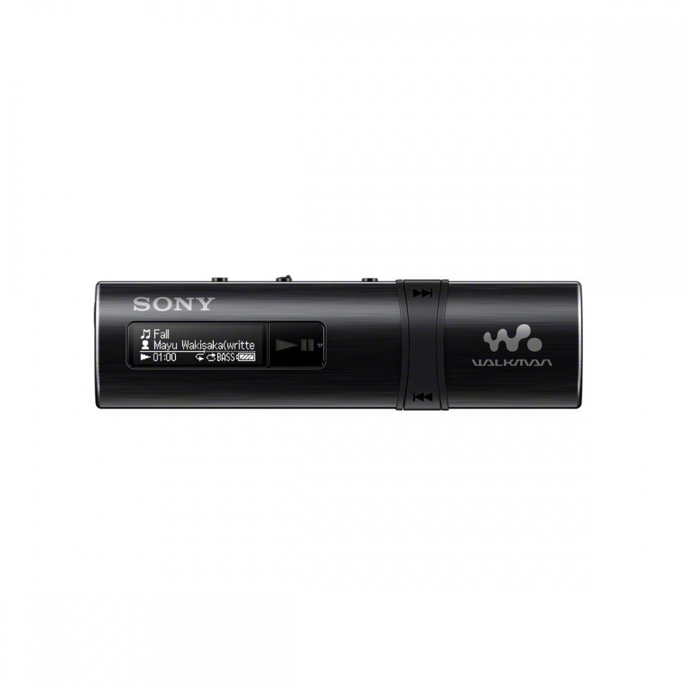 SONY NWZ-B183F – Přehrávač WALKMAN® s portem USB, FM radio, 4GB BLACK - NWZB183FB.CEW