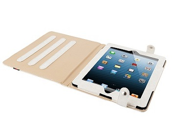 """Modecom obal na tablet COVER IPAD2/3 CALIFORNIA YOUNG WHITE, velikost 9.7"""", bílé - FUT-MC-IPA3-CALYOU-WHI"""