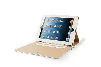 "Modecom obal na tablet COVER IPAD2/3 CALIFORNIA CHIC WHITE, velikost 9.7"", bílé - FUT-MC-IPA3-CALCHIC-WHI"