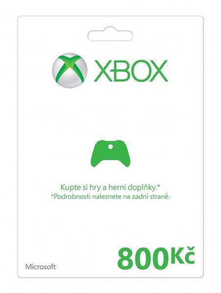 Xbox LIVE Předplacená karta 800 Kč - MSXP41952