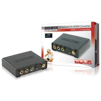 König KN-HDMICON10 - převodník Component -> HDMI - KN-HDMICON10