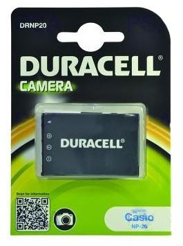 DURACELL Baterie - DRNP20 pro Casio NP-20, černá, 700 mAh, 3.7 V - DRNP20