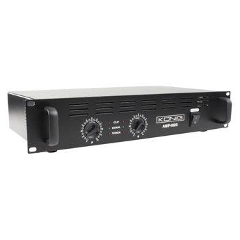 König PA-AMP4800-KN - PA zesilovač 2 x 240W - PA-AMP4800-KN