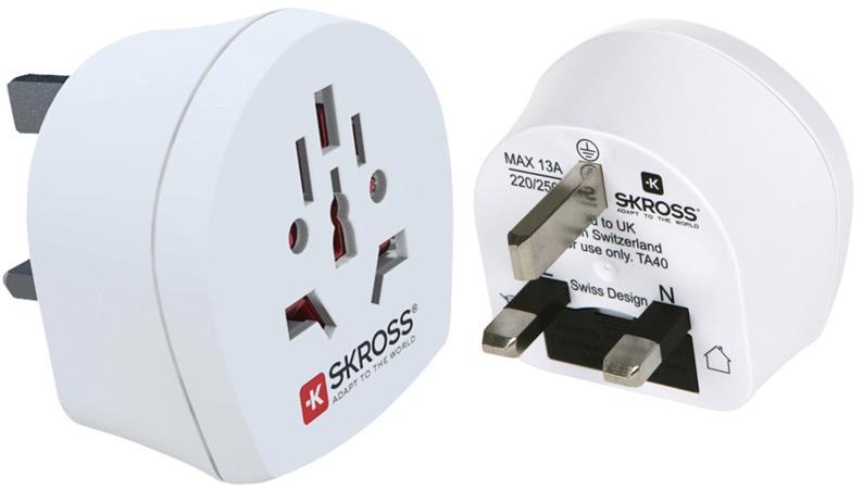 Skross SKR1500220 - Cestovní adaptér, svět - UK - SKR1500220