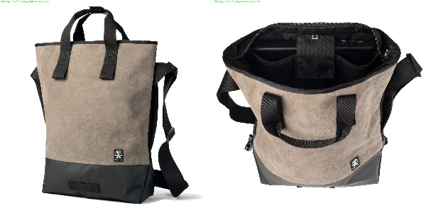 Crumpler Proper Roady Leather Messenger M - suede leather/black - PRYLM-M-001