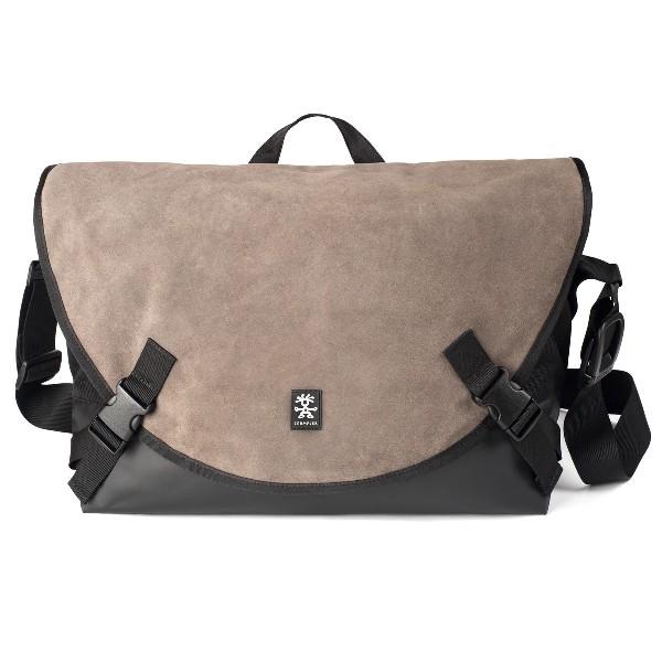 Crumpler Proper Roady Leather Laptop L - suede leather/black - PRYL-L-001