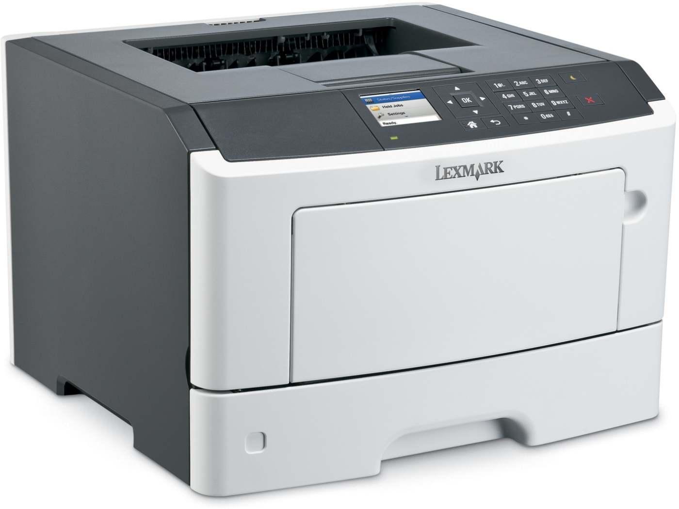 Lexmark MS415DN mono laser, 38 str./min., duplex, síť, paralel. port - 35S0280