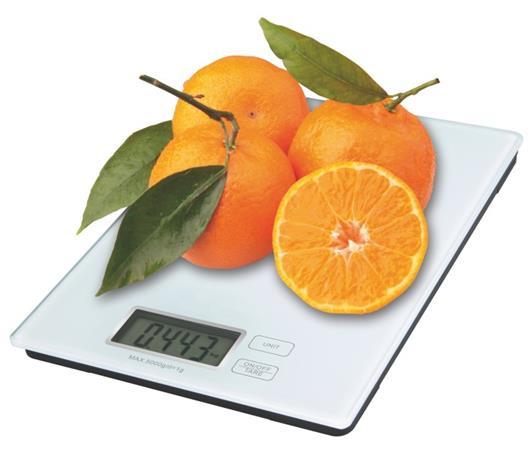 Emos kuchyňská digitální váha TY3101, bílá - 2617001400