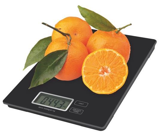 Emos kuchyňská digitální váha TY3101B, černá - 2617001401