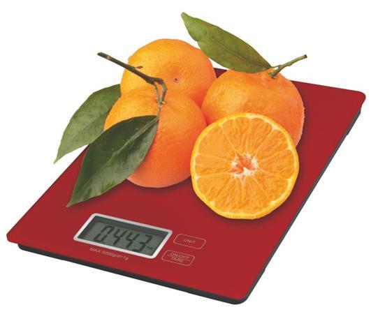 Emos kuchyňská digitální váha TY3101R, červená - 2617001402