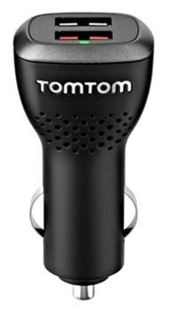 TOMTOM nabíječka vysokorychlostní duální do auta 12/24V (2x USB) - 9UUC.001.22