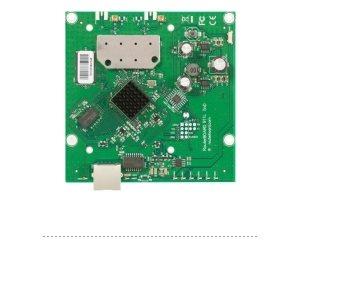 MikroTik RB911-5HnD, 64MB RAM, 802.11a/n, 2x2 two chain, 5GHz, ROS L3, 1xLAN, 2x MMCX - RB911-5HnD