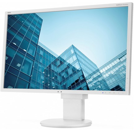 """NEC 30"""" EA304WMi - 2560x1600, AH-IPS, GB-R LED, 350cd, D-Sub, DVI, DP, HDMI, USB, bílý - 60003495"""