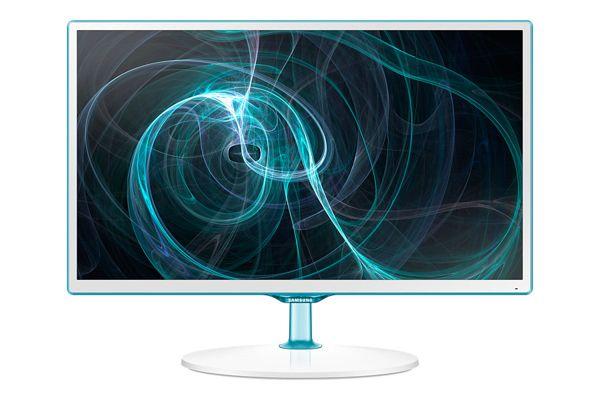 "Samsung 23,6"" LCD T24D391 - HD tuner, PLS, 1920x1080, HDMI, USB, SCART, bílý - LT24D391EW/EN"