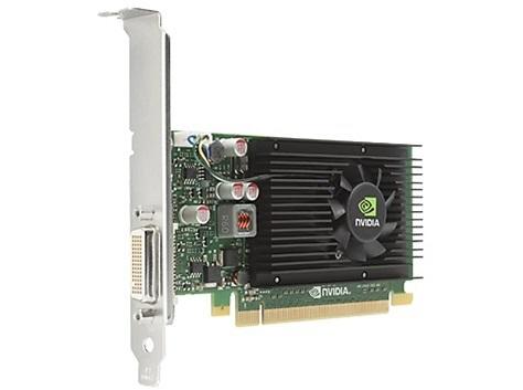 HP NVIDIA NVS 315 1GB PCIe x16 Graphics Card, (2x VGA, low profile) - E1C65AA