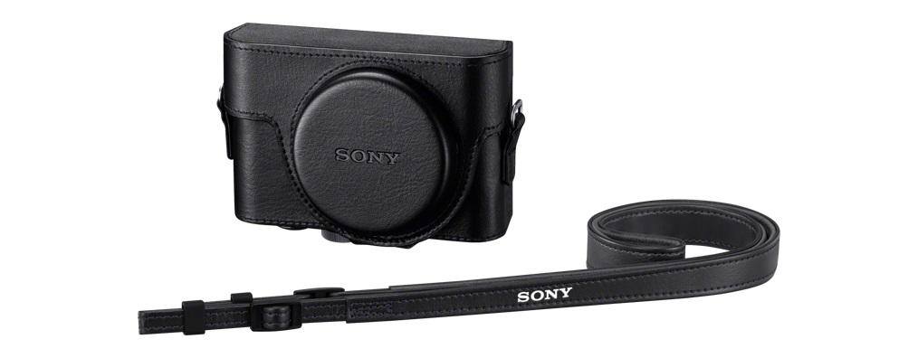 SONY LCJ-RXF Ochranné obalové pouzdro pro fotoaparát Cyber-shot™ RX100/RX100 II/RX100 III - LCJRXFB.SYH