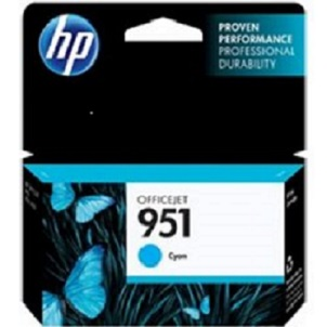 HP CN050AE Ink Cart No.951 pro OJ Pro 8610,8620, 700str., Cyan - CN050AE