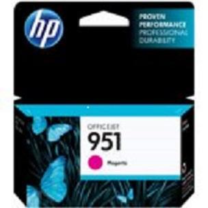 HP CN051AE Ink Cart No.951 pro OJ Pro 8610,8620, 700str., Magenta - CN051AE