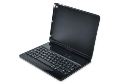 Ednet Rotatable Keyboard Case for iPad Air, BT 3.0, Li-ion battery, 130mAh, incl. stylus, rubber coa - 86276