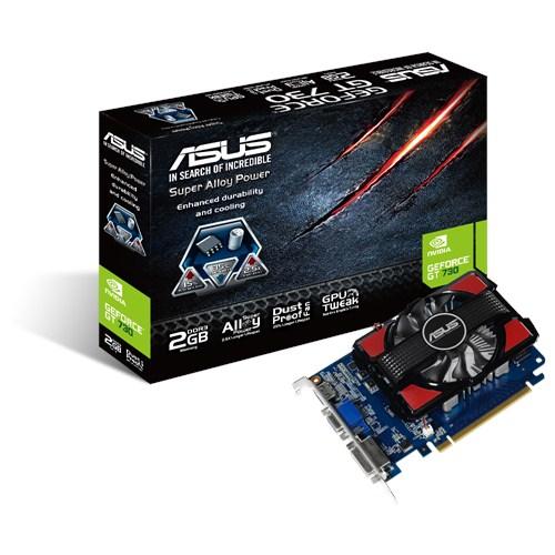 ASUS GT730-2GD3, NVIDIA GeForce GT 730, DDR3 2GB, D-sub, DVI, HDMI - 90YV06K0-M0NA00