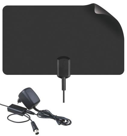 BENsat BEN9023 - tenká pokojová anténa pro DVB-T, černá - 2702020000