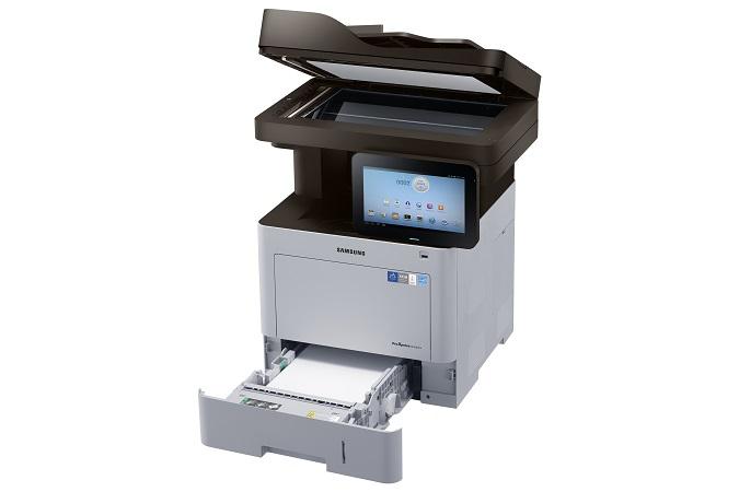 Samsung SL-M4583FX,A4,45ppm,1200x1200dpi,1GBram,PCL+PS,USB,LAN,duplex,DADF,fax,HDD,LCD - SL-M4583FX/SEE