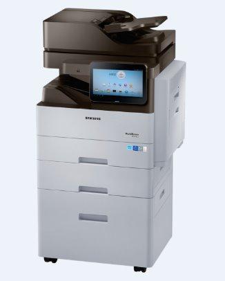 Samsung SL-M4370LX,A4,43ppm,1200x1200dpi,2GB ram,PCL+PS,USB,LAN,duplex,DADF,fax,HDD,LCD - SL-M4370LX/SEE