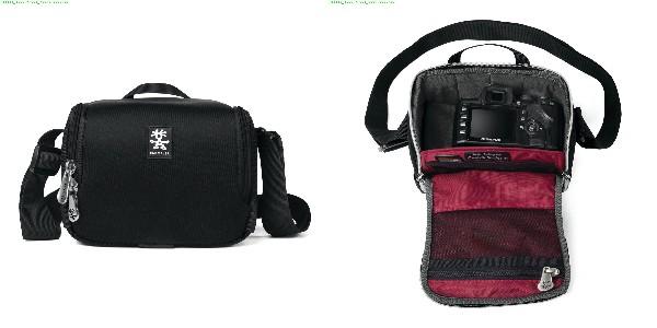 Crumpler Base Layer Camera Cube M - black/rust red - BLCC-M-001