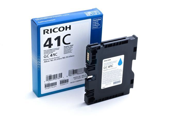 Ricoh - toner 405762 (SG 3110DN, 3110DNw, 3100SNw, 3110SFNw, 3120B SFNw, 7100DN) 2200 stran, azurový - 405762