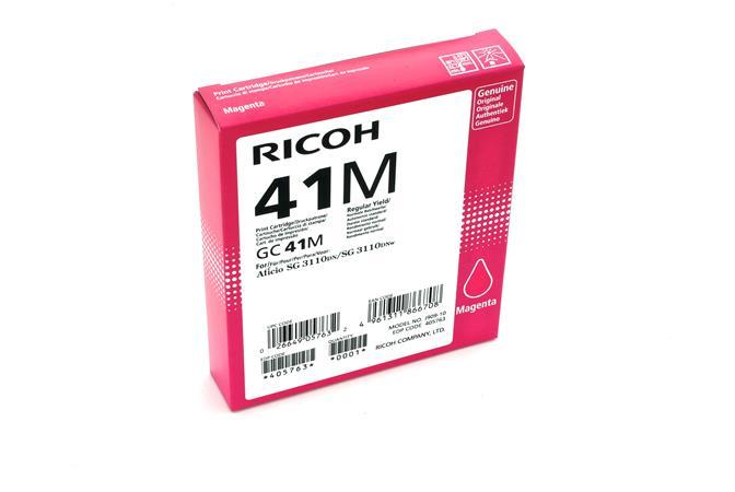 Ricoh - toner 405763 (SG 3110DN, 3110DNw, 3100SNw, 3110SFNw, 3120B SFNw, 7100DN) 2200 stran, purpuro - 405763