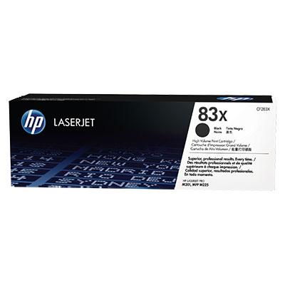 HP CF283X Toner 83X pro LJ M201n,dw/M225 dw, dn (2200str.) Black - CF283X