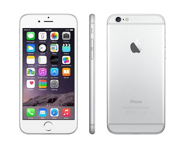 Apple iPhone 6 64GB - stříbrný - MG4H2CN/A
