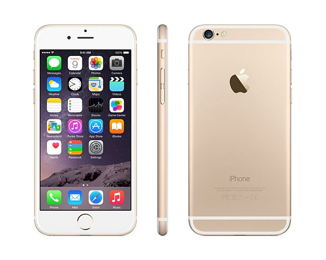 Apple iPhone 6 128GB - zlatý - MG4E2CN/A