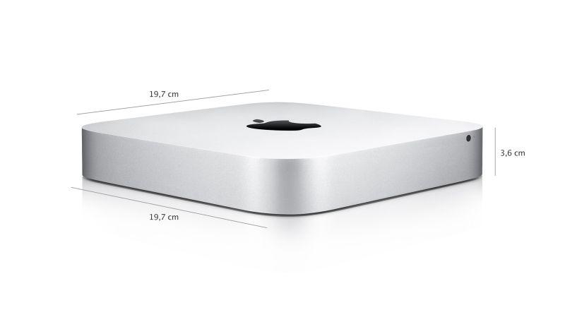Apple Mac Mini/DC i5 1.4-2.7GHz/4GB/500GB_5,4k/HD5000/WLANac/GLAN/BT/HDMI - MGEM2CS/A