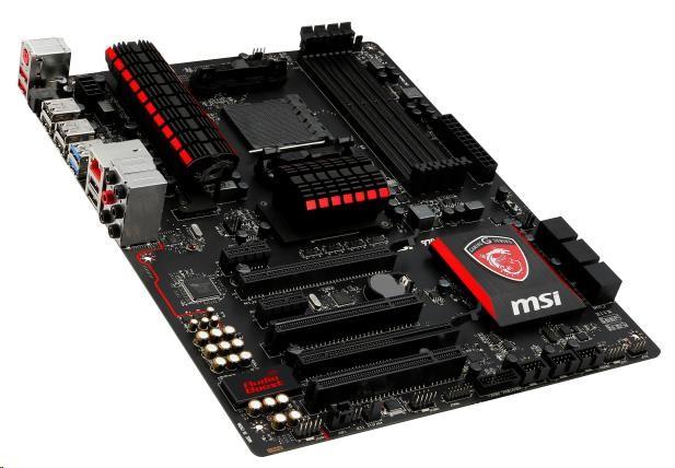 MSI 970 GAMING, AM3+, AMD970, 4xDDR3, 2xPCIe16, GL, 8CH, USB3.0 - 970 GAMING
