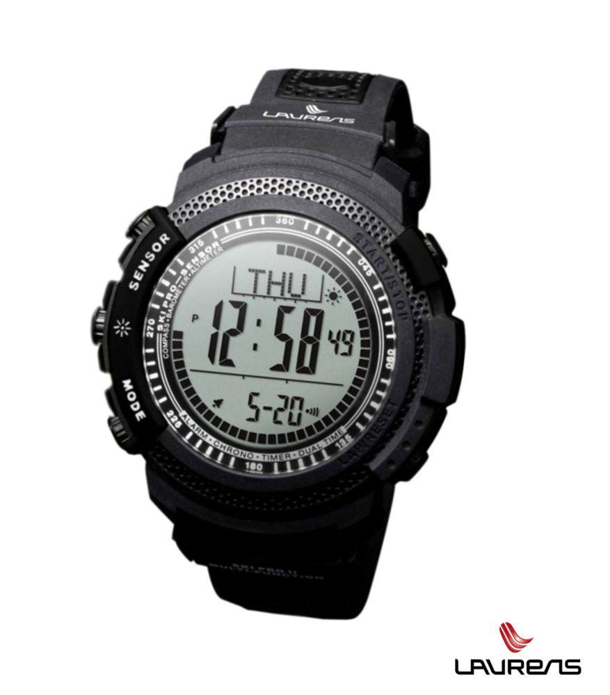 Laurens Ski PRO Nero - outdoorové hodinky - SKi PRO nero