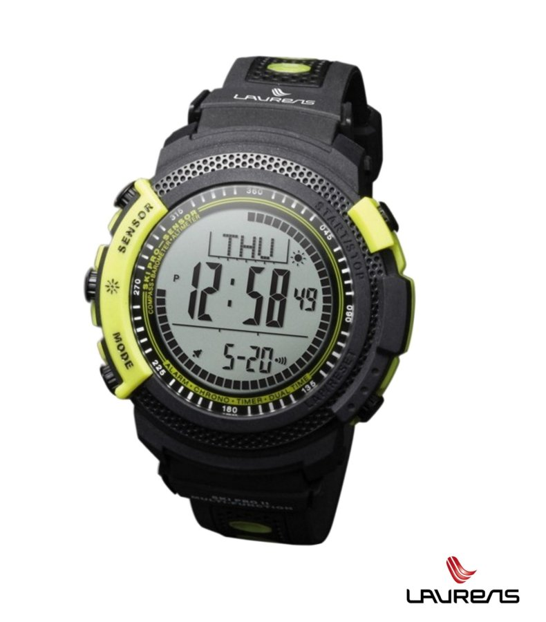 Laurens Ski PRO Fluo - outdoorové hodinky - SKi PRO fluo