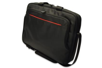 "Ednet Notebook Bag, 15.6 "", super-fiber, nylon, black, Size: L43 x W11 x H32 cm - 62200"