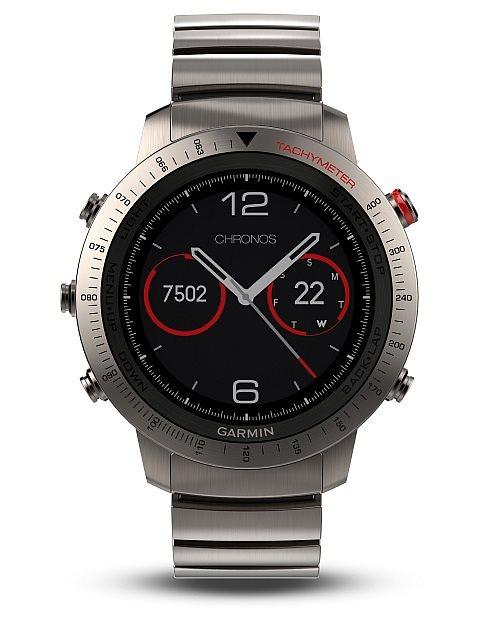 Garmin fenix3 Sapphire Titanium,chytré hodinky,výškoměr, barometr, kompas, teploměr. - 010-01338-41
