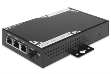 Digitus HDMI Extender, Transmitter Unit, 100m over CAT. 5e/6, 30km Fiber Optic, cascadable Supports - DS-55300