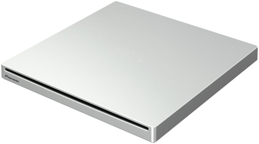 Pioneer BDR-XU03T BD-RW/USB3/externí/bílá/retail - BDR-XU03T