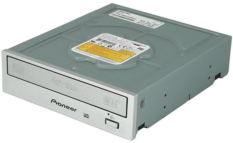 Pioneer DVR-S21LSK DVD±RW/SATA/interní/Labelflash/stříbrná/retail - DVR-S21LSK