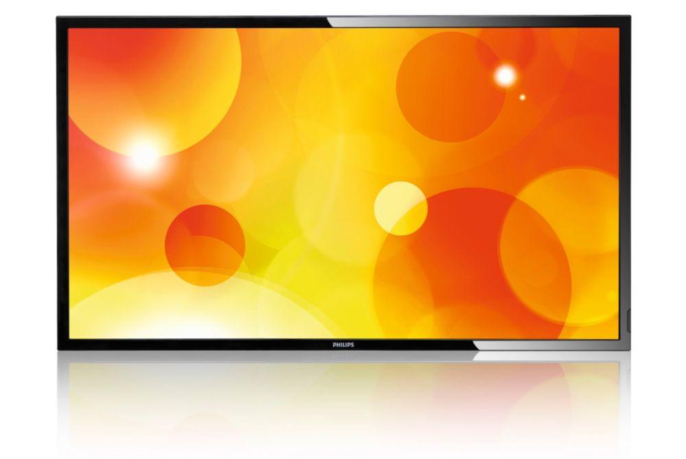 "Philips LCD 55"" BDL5580VL Public Display - EDGE LED Slim - BDL5580VL/00"