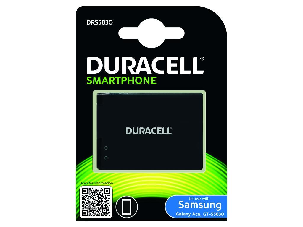 DURACELL Baterie - DRS5830 pro Samsung Galaxy Ace (GT-S5830), 1450 mAh, 3.8V - DRS5830