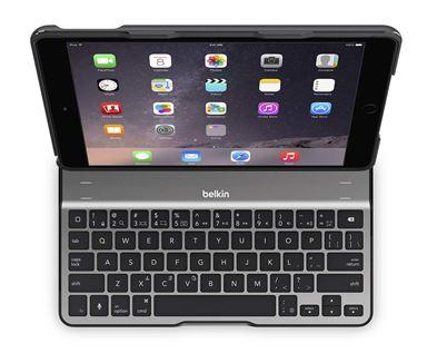 Belkin iPad Air 2 Bluetooth QODE™ Ultimate klávesnice, černá - F5L178eaBLK