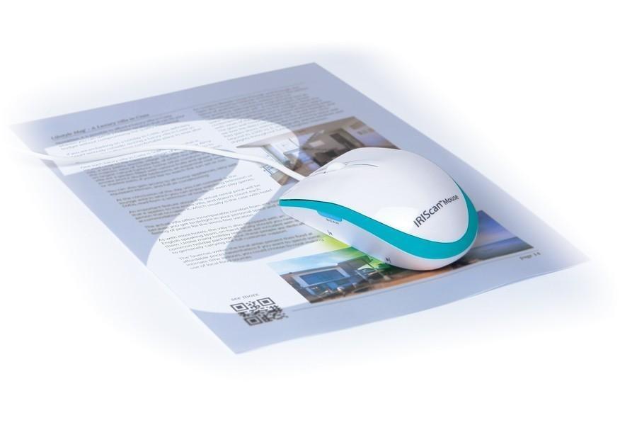 IRIS skener IRISCAN Mouse Executive 2/ bílá/ myš s funkcí skeneru - 458075