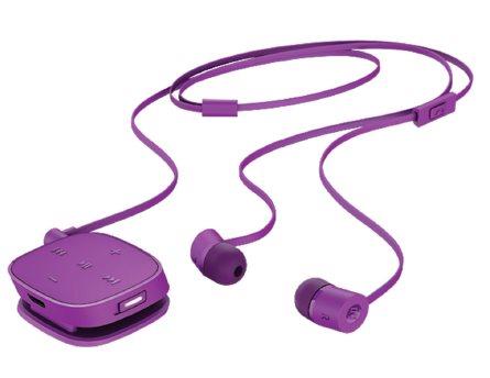 HP Sluchátka bezdrátová Stereo Bluetooth Headset H5000 fialová - J2X02AA#ABB